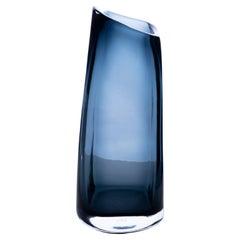 21st Century Federico Peri Trapezio Large Vase Murano Glass Various Colors