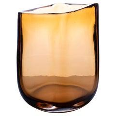 21st Century Federico Peri Trapezio Small Vase Murano Glass Various Colors