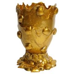 21st Century Gaetano Pesce Nugget M Vase Gold