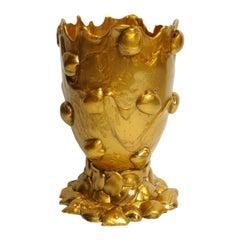 21st Century Gaetano Pesce Nugget L Vase Gold