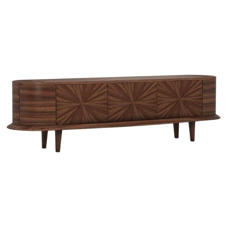21st Century Grant Sideboard Walnut Wood For Sale