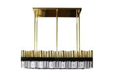 21st Century Granville Suspension Lamp Brass