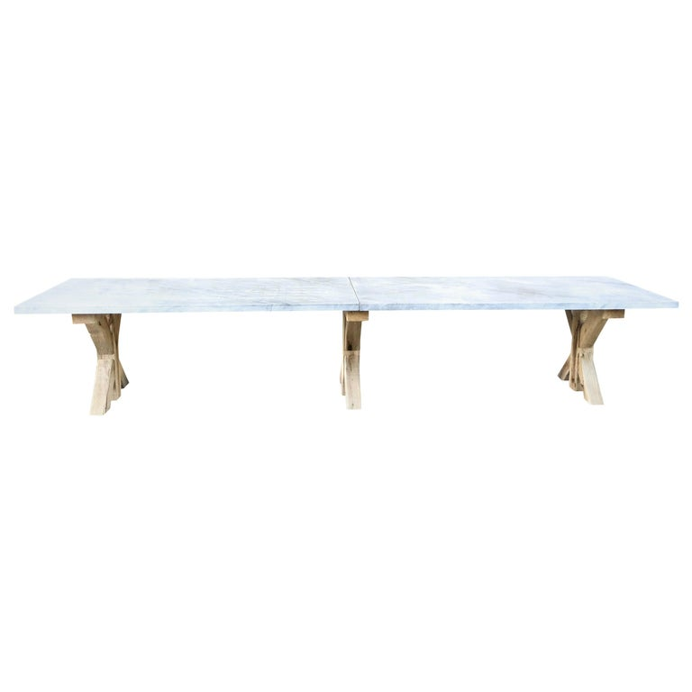 21st Century Grey Hoven Table For Sale