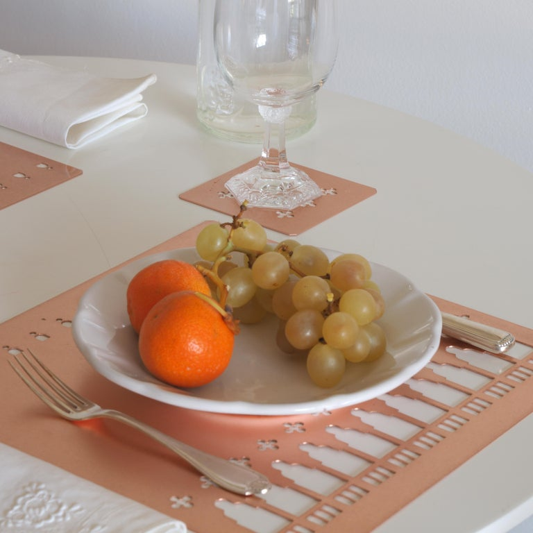 21st Century Ceramic Side Plate White Handmade In New Condition For Sale In Milan, IT