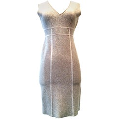 21st Century Herve Leger Style Metallic Cocktail Dress By Maxazria For BCBG