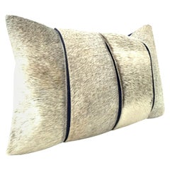21st Century Hide Hair and Feather Pillow