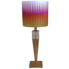 21st Century Iron and Crystal Table Lamp by Banci, Firenze, Italy, 2011