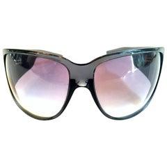 "21st Century Italian Blue & Swarovski Crystal ""GG"" Logo Sunglasses By, Gucci"