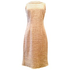 21st Century & New Italian Boucle Shift Dress By, Dolce & Gabbana - Size 42