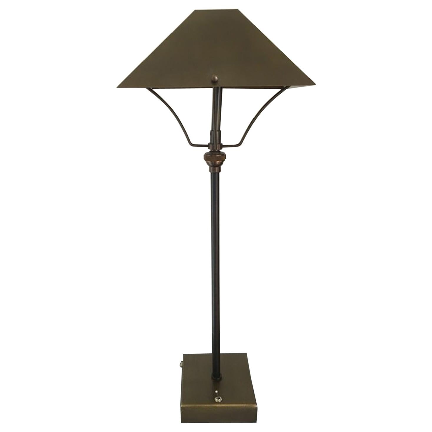 21st Century Italian Design Burnished Brass Cordless Table Lamp