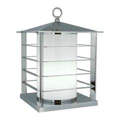 21st Century Italian Design Outdoor Brass Floor Lantern