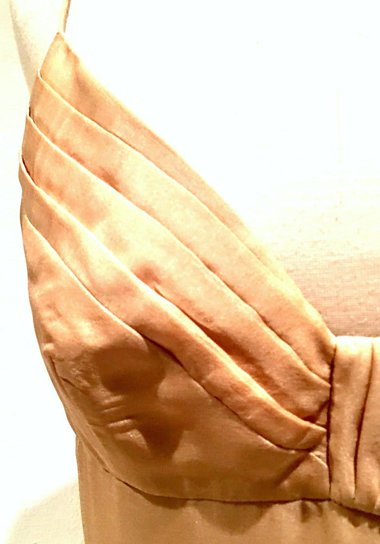 21st Century Italian Silk Chiffon Slip Dress By Girogio Armani - Size 42 For Sale 6