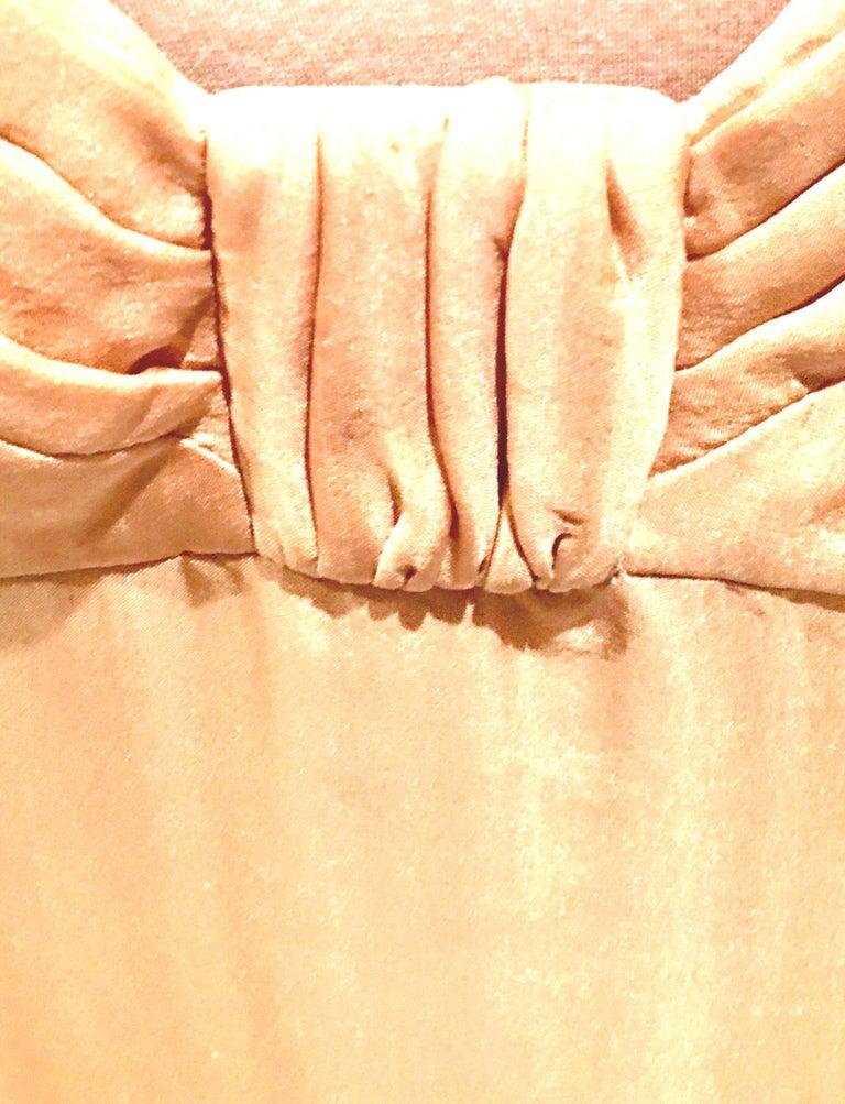21st Century Italian Silk Chiffon Slip Dress By Girogio Armani - Size 42 For Sale 7