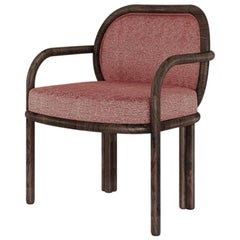21st Century James Dining Chair Walnut Wood