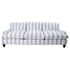 21st Century Jonas Sofa Newly Upholstered in Schumacher Fabric