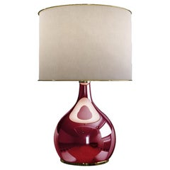 21st Century Kapoor Table Lamp Mirrored Glass