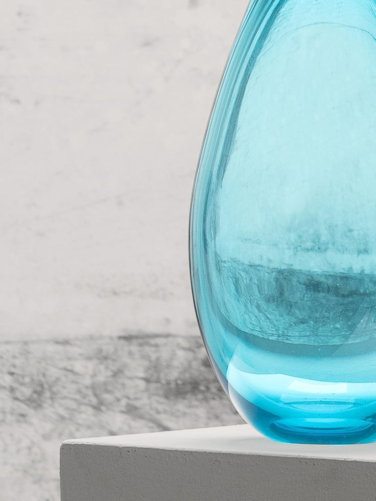21st Century Karim Rashid King Vase Murano Glass Various Colors In New Condition For Sale In Brembate di Sopra (BG), IT