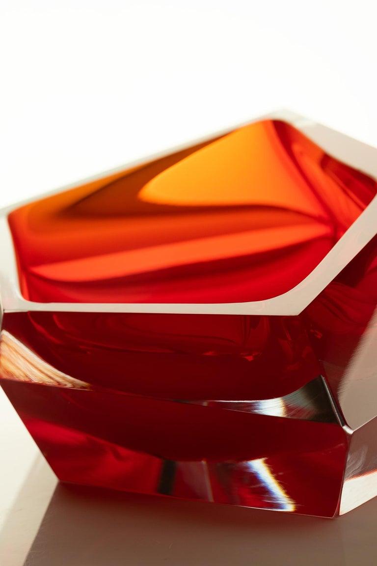 21st Century Karim Rashid Small Bowl Murano Glass Various Colors For Sale 4
