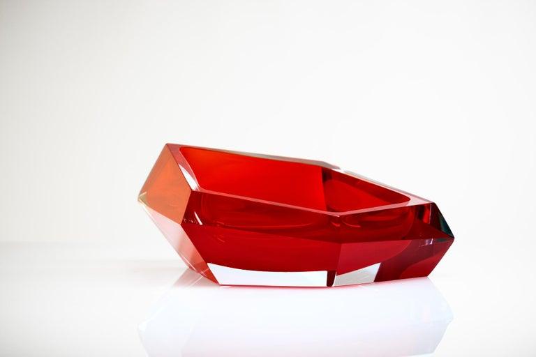 21st Century Karim Rashid Small Bowl Murano Glass Various Colors For Sale 6