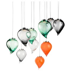 21st Century Karim Rashid Suspension Lamp Murano Glass Various Colors