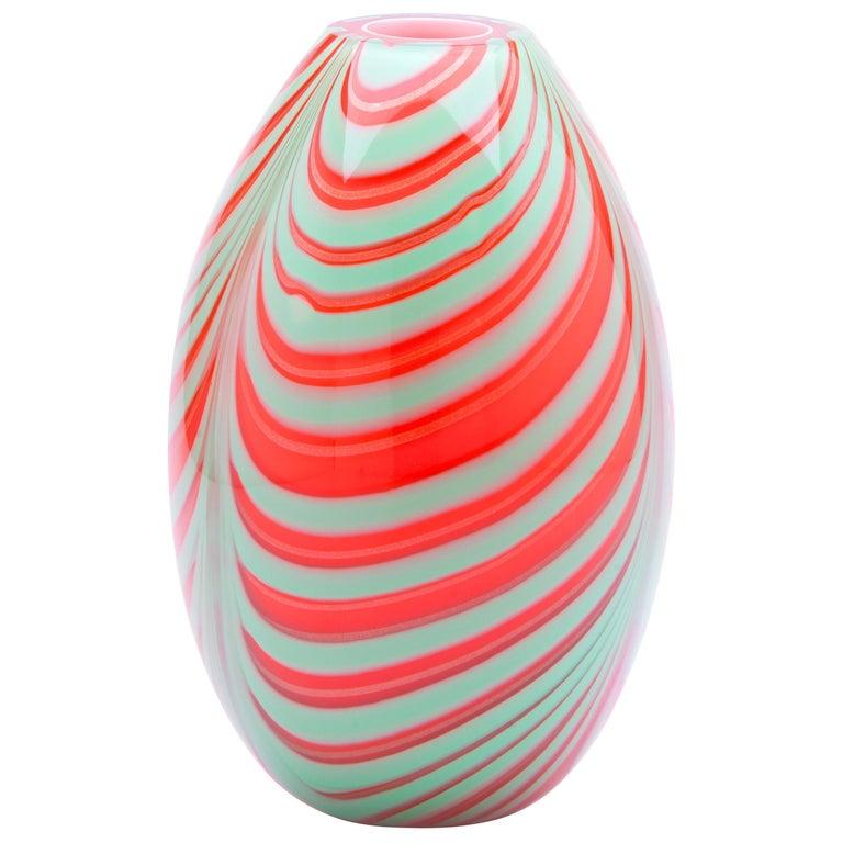21st Century Karim Rashid Vase Murano Glass Various Colors For Sale