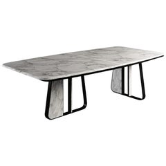 21st Century Kenai Dining Table Marble