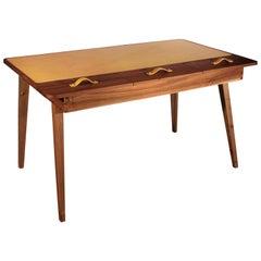 21st Century Kipling Desk Walnut Wood
