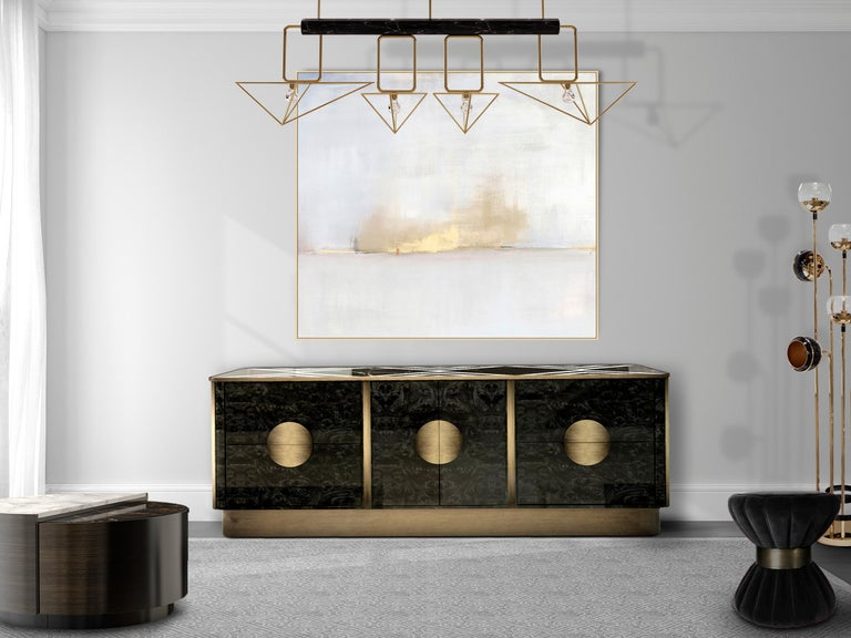 21st Century Knox Sideboard Marble In New Condition For Sale In RIO TINTO, PT