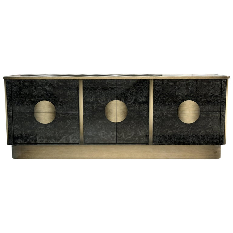 21st Century Knox Sideboard Marble For Sale
