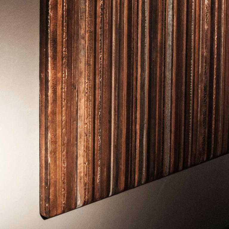 Modern 21st Century Laboratorio Avallone Artwork Copper For Sale