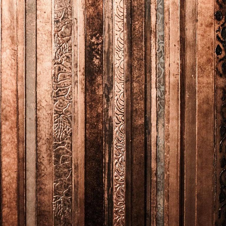 Other 21st Century Laboratorio Avallone Artwork Copper For Sale
