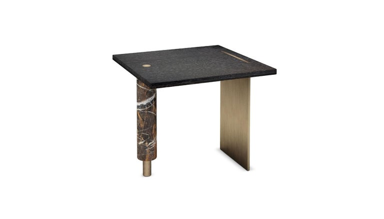 Geometric design deals with the construction and representation of free-formed curves, surfaces or volumes. Inspired by the Lakewood Garden Mausoleum, Porus Studio designed the Lakewood modern side table. At the main entry, the Lakewood Garden