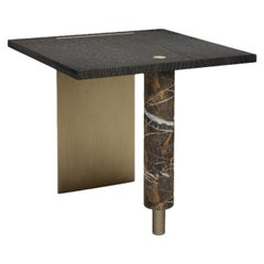 21st Century Lakewood Side Table Stained Oak