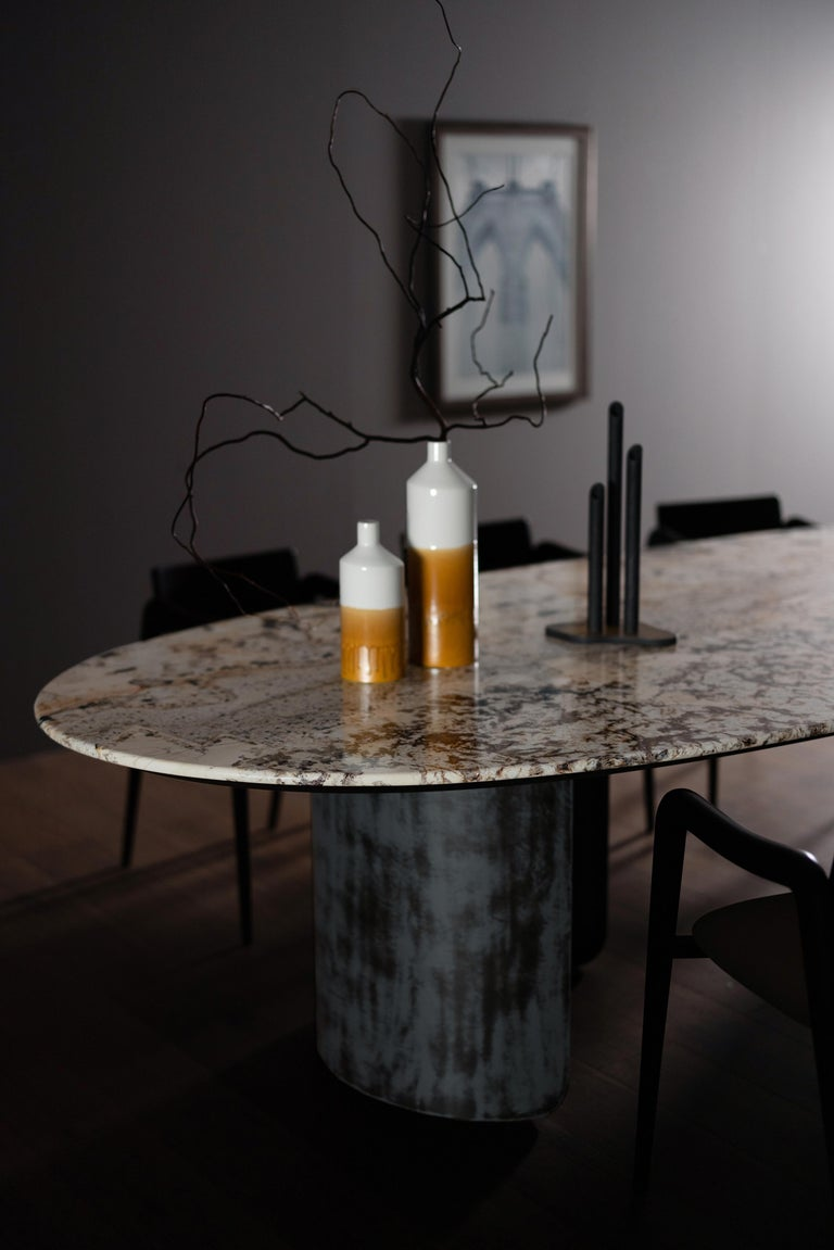 21st Century Modern Armona Dining Table Handcrafted in Portugal by Greenapple  For Sale 3