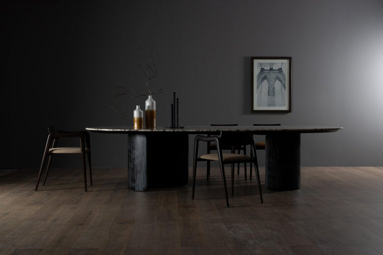 21st Century Modern Armona Dining Table Handcrafted in Portugal by Greenapple  For Sale 1