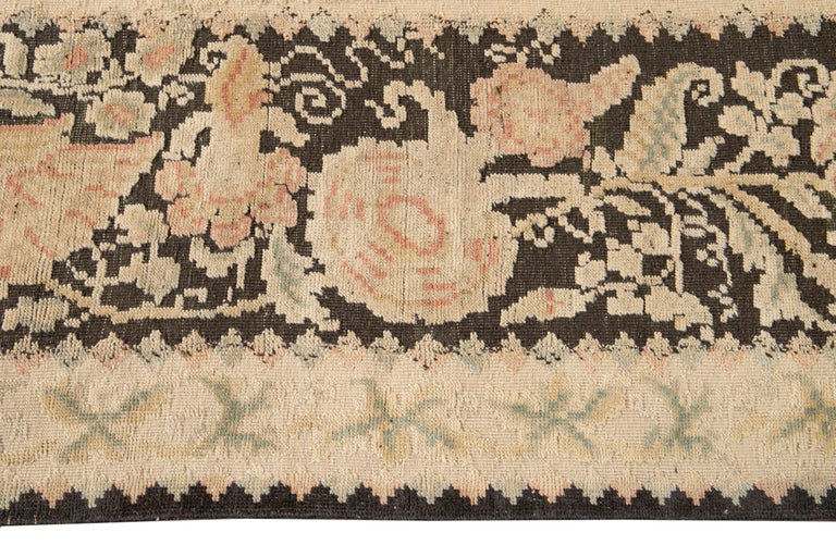 Hand-Knotted 21st Century Modern Bessarabian Oversize Wool Rug For Sale