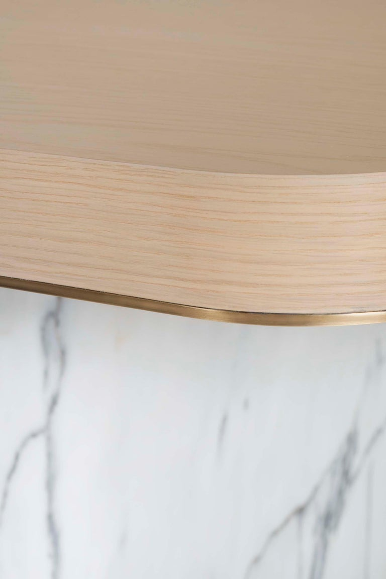 21st Century Modern Fall Dining Table Handcrafted in Portugal by Greenapple For Sale 4