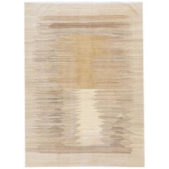 21st Century Modern Flat-Weave Kilim Rug