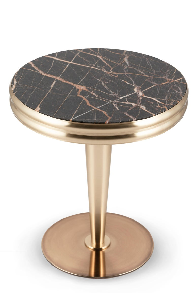 21st Century Art Deco Glasgow Side Table Handcrafted in Portugal by Greenapple For Sale 1