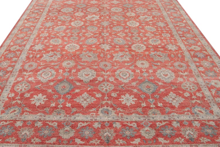 21st Century Modern Indian Wool Rug For Sale 6