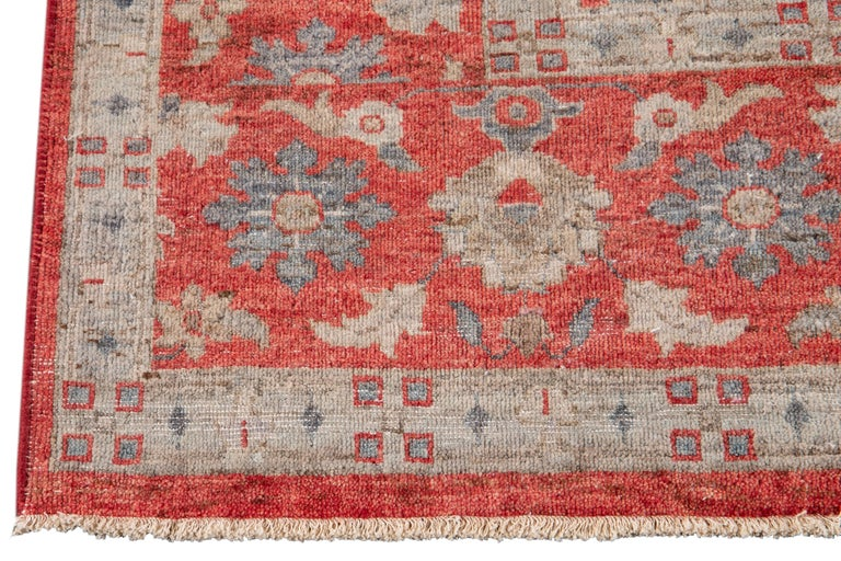 21st Century Modern Indian Wool Rug For Sale 7