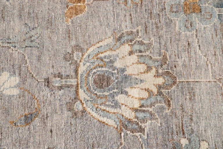 Contemporary 21st Century Modern Indian Wool Rug For Sale