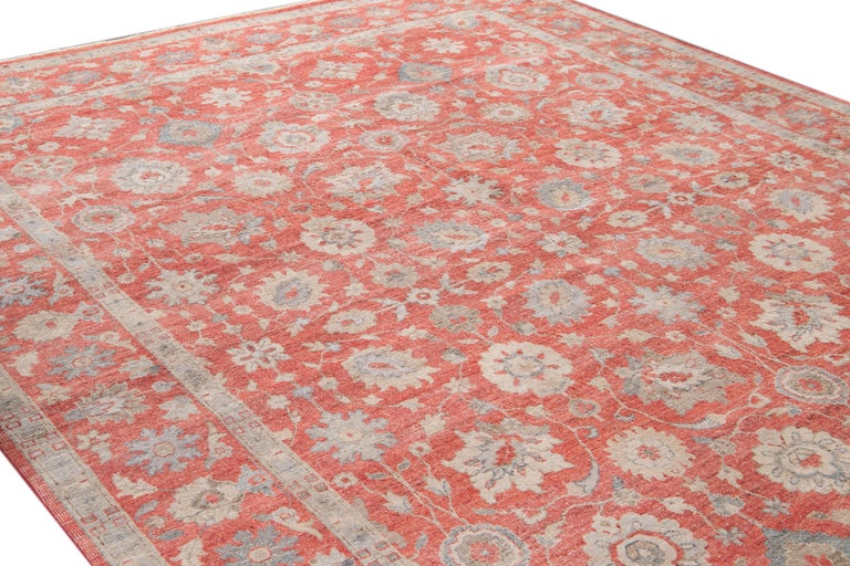 21st Century Modern Indian Wool Rug For Sale 2