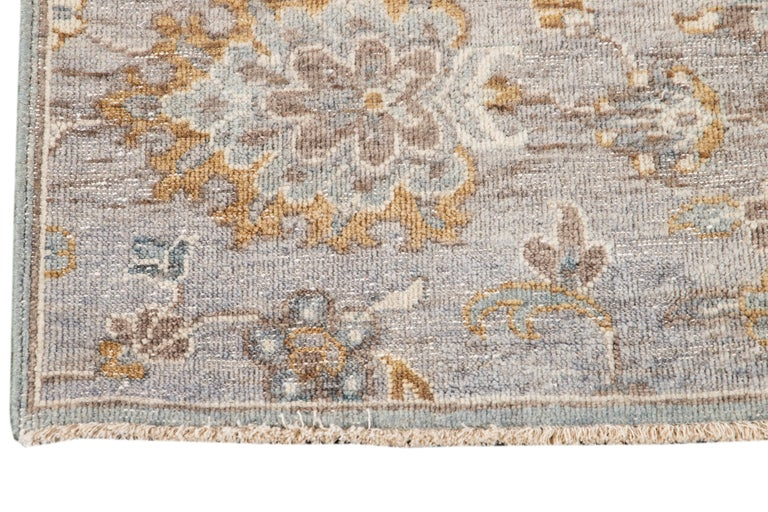 21st Century Modern Indian Wool Rug For Sale 3