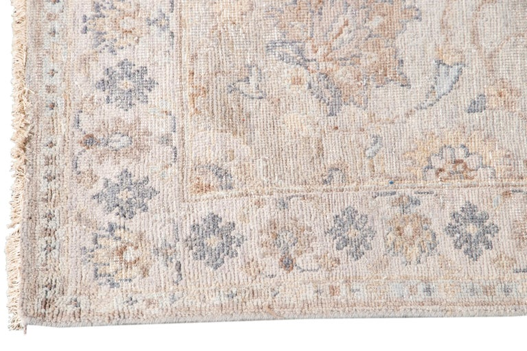 Persian 21st Century Modern Indian Wool Runner Rug For Sale
