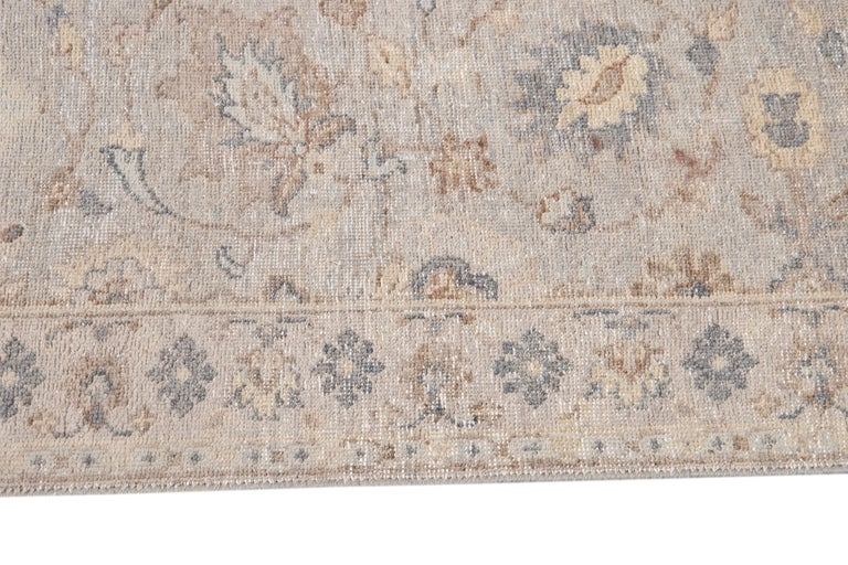 21st Century Modern Indian Wool Runner Rug In New Condition For Sale In Norwalk, CT