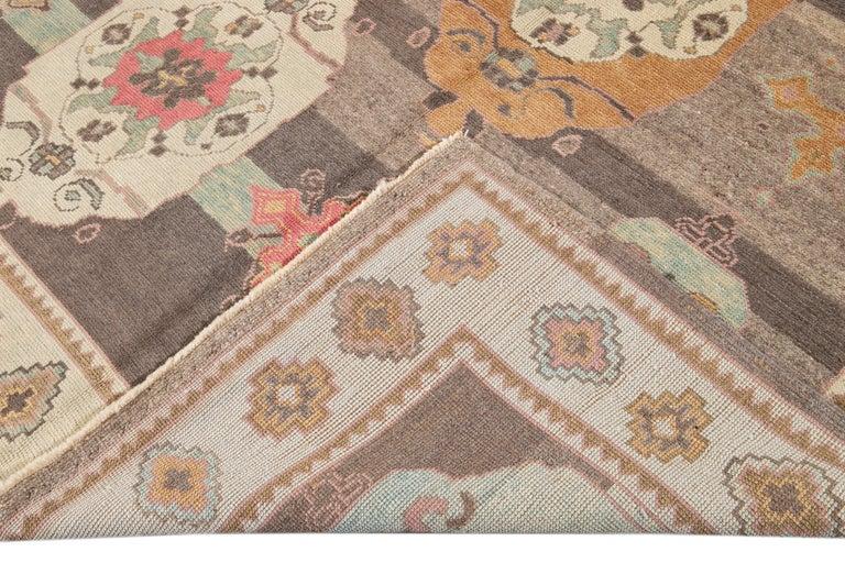 21st Century Modern Kars Wool Rug For Sale 4