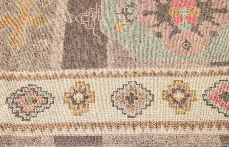 21st Century Modern Kars Wool Rug In New Condition For Sale In Norwalk, CT