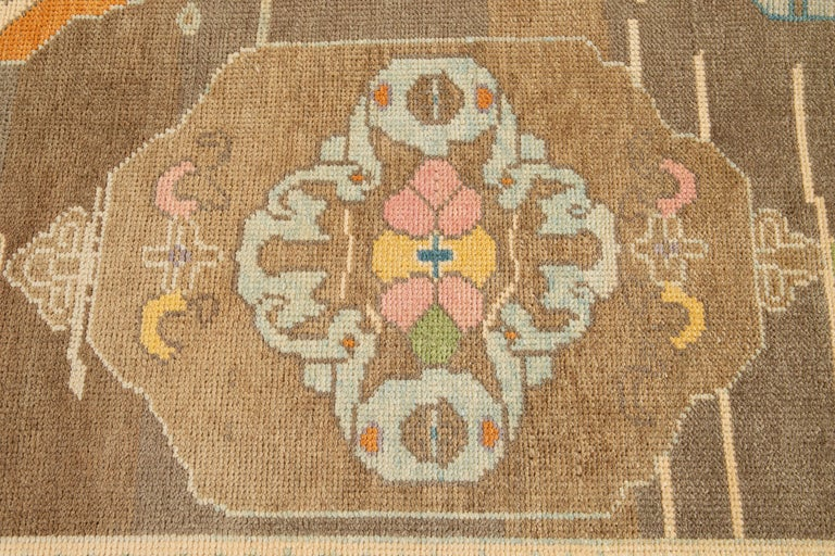Contemporary 21st Century Modern Kars Wool Rug For Sale