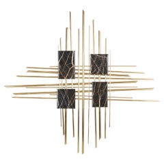 21st Century Art Deco Majestic Wall Art Handcrafted in Portugal by Greenapple
